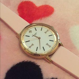 Kate Spade ♠️ 💕 Pink and gold Metro Watch